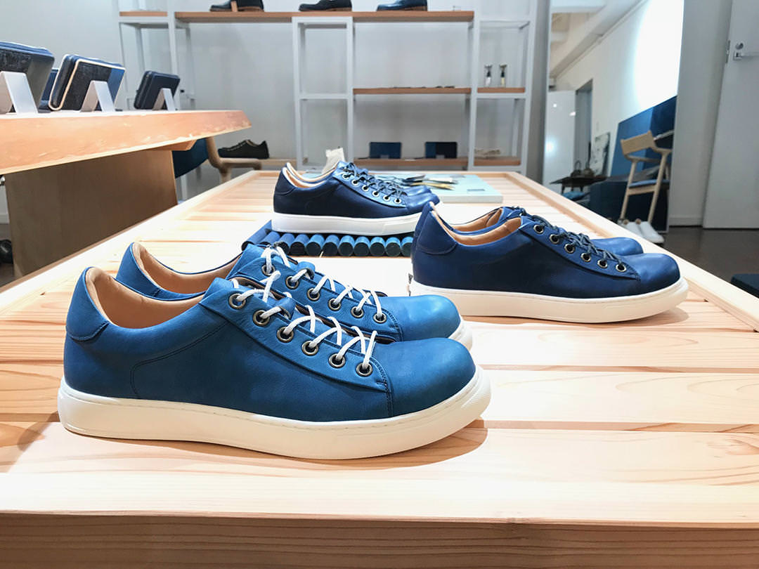 SUKUMO Leather Sneakers History