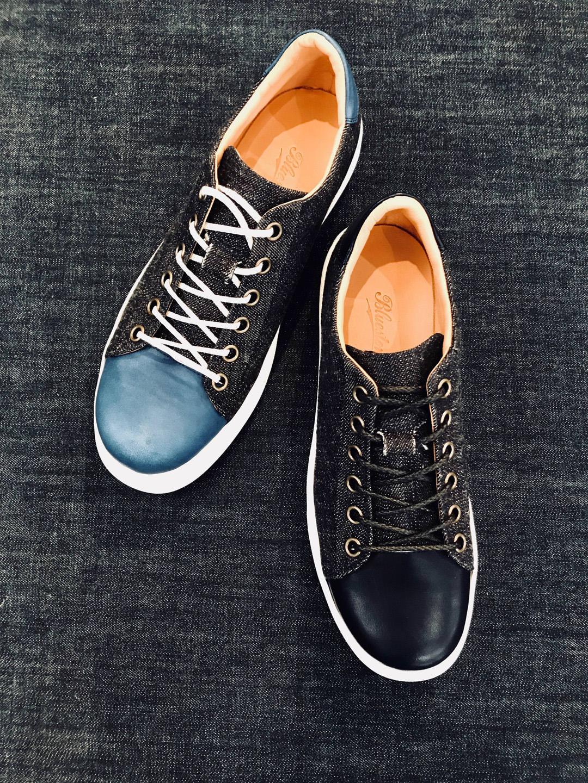 Bluestone Denim Sneakersはマテリアルが凄い