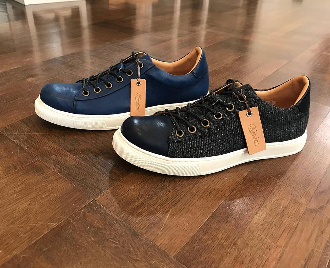 素材にこだわり、製法にこだわったDenim × SUKUMO Leather Sneakers