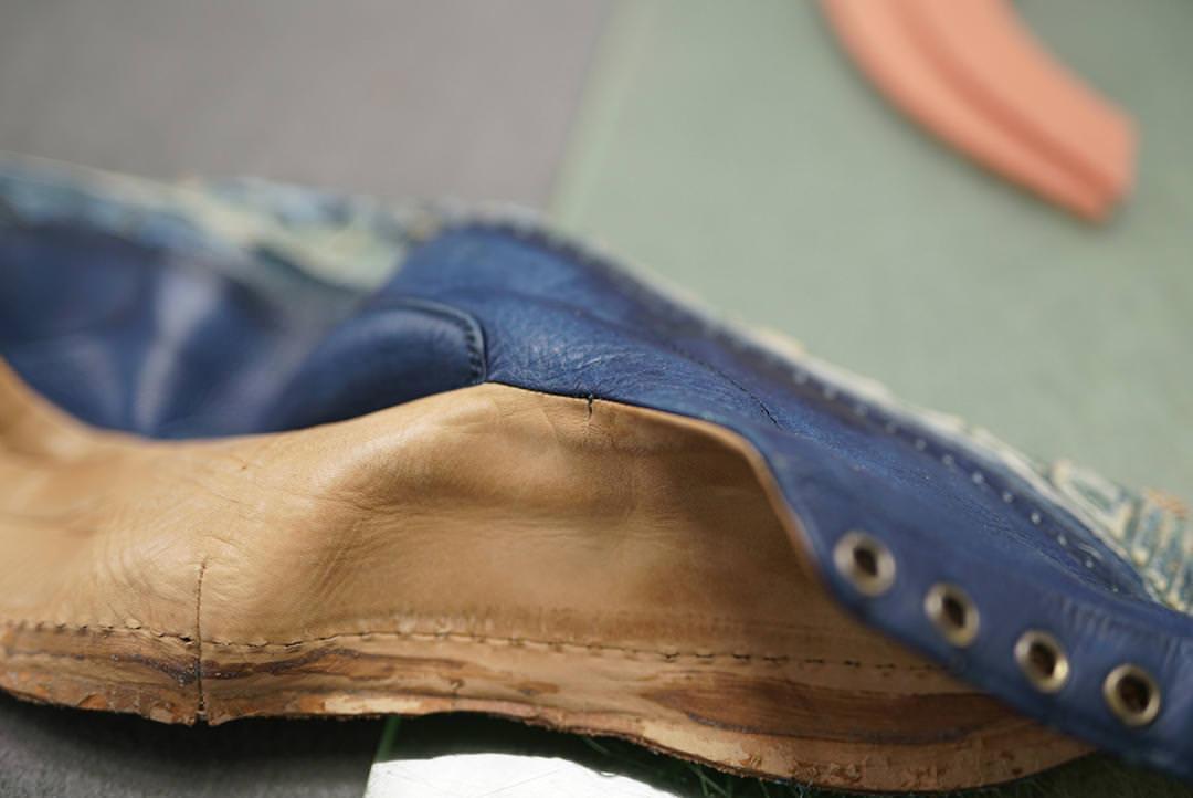 修理にもこだわる!Bluestoneの靴